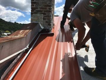 Standing Seam Metal Roof Installer