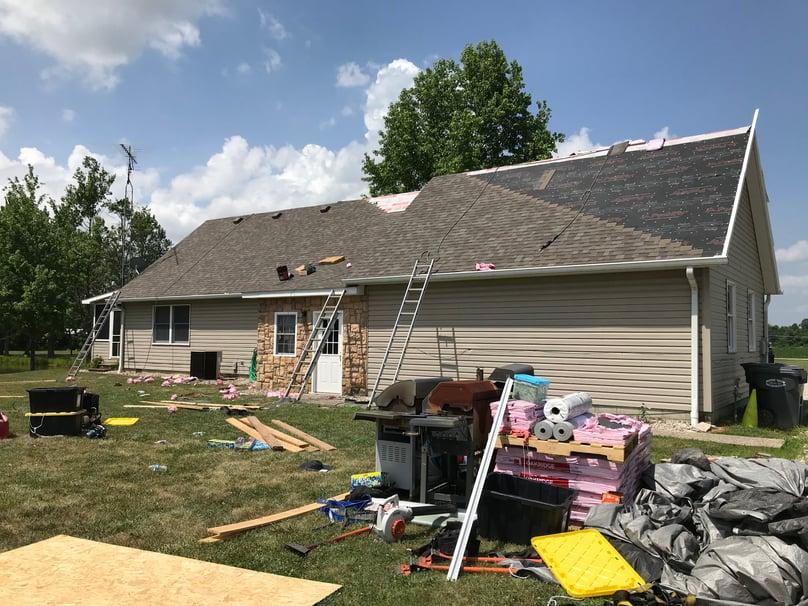 Shingle Roofing Repair Dimensional Shingles-Madison