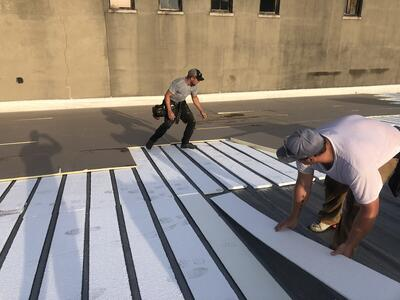 Flat Roof Repair Roof Insulation Installation-Salvation Army