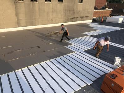 Flat Roof Repair Roof Insulation Overview-Salvation Army