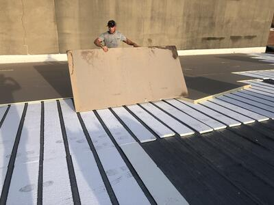 Flat Roof Repair Roof Insulation-Salvation Army