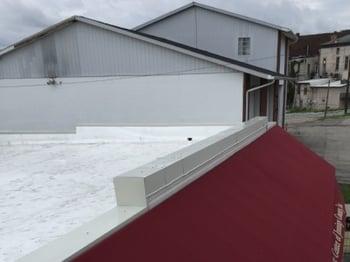 Metal Coping Installation Parapet Walls Flat Roof Repair-North Vernon-827501-edited