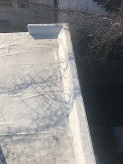 Flat Roof Installation Corner-Speedway