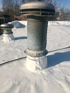 Flat Roof Installation Roof Vents-Speedway