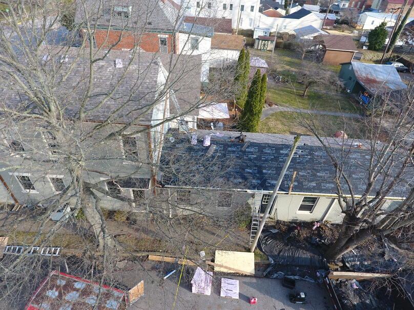 Designer Shingle Roof Repair Historic Building-Madison