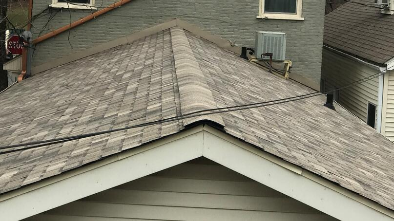 Dimensional Designer Shingle Finished Product Top Layer-Madison