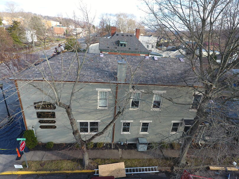 Historic Designer Shingle Roof Intallation-Madison