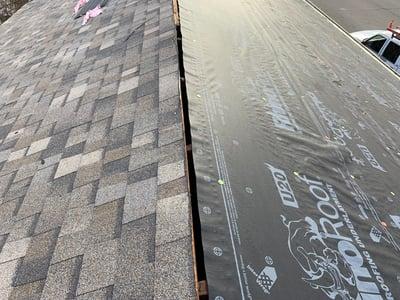 Roof Peak Designer Shingles Installation-Madison