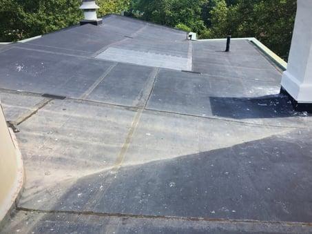 Indiana PVC membrane Flat Roof repair.jpg