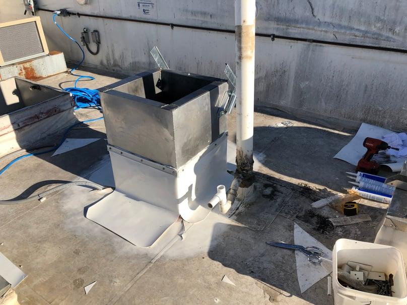 Flat Roof Repair Duro-Last Installation-Indianapolis