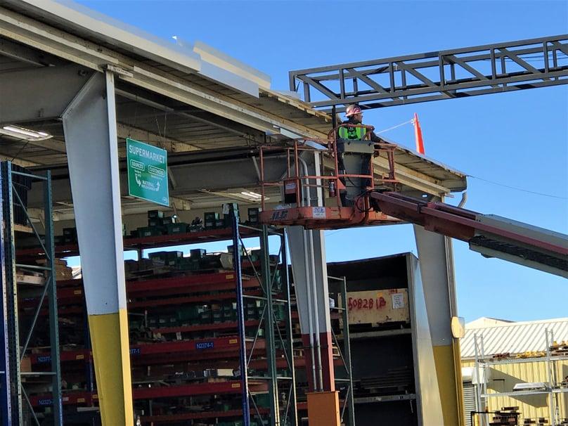 Commercial Guttering Installation Prep-VSG