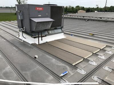 Metal Roof Flat Roof Repair-Venture
