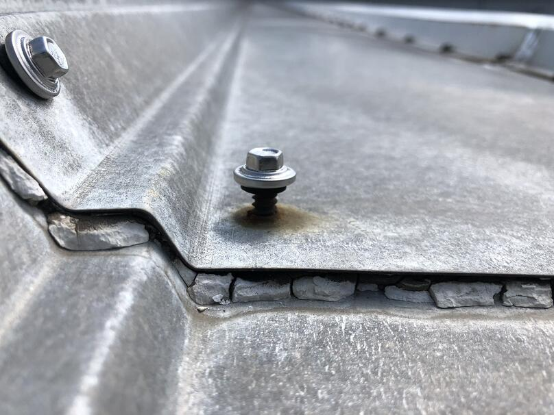 Metal Roof Srew  Damage Repair-Venture