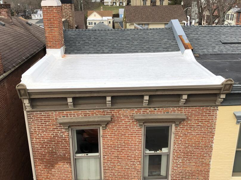 Flat Roof Repair Installation Overview-Madison