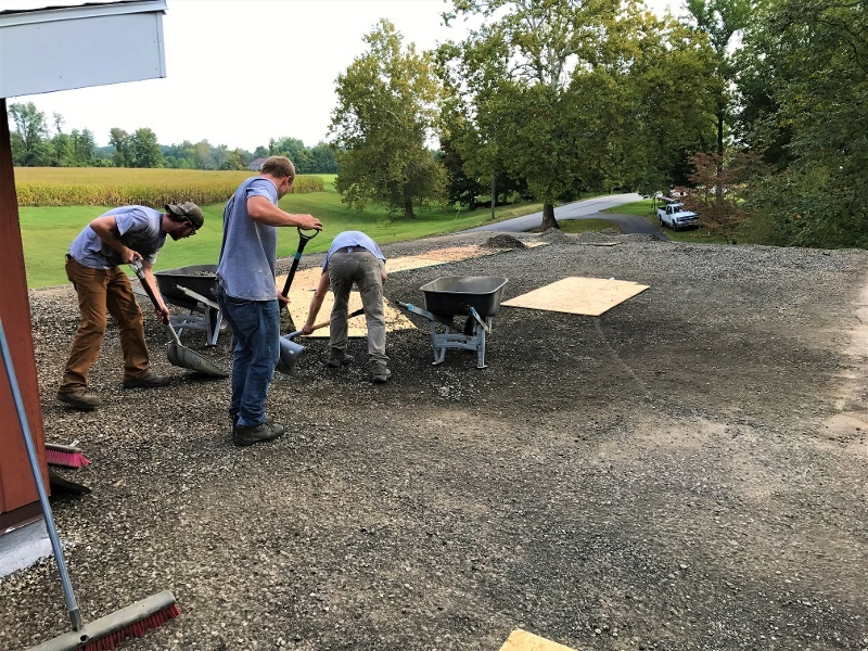 Flat Roof Repair and Installation Gravel Removal