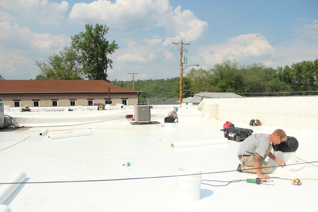Latest Projects by Exterior Pro Inc: Commercial Roofing and Box Gutters