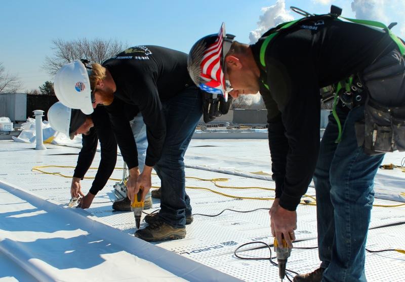 Duro-Last Roofing Installation