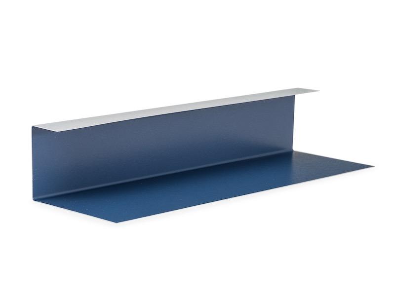 Metal roof trim pieces