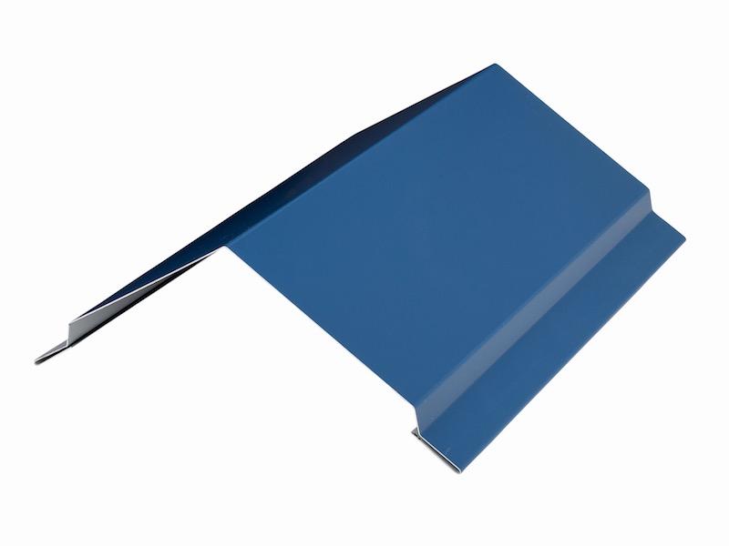 Metal roof rake trim