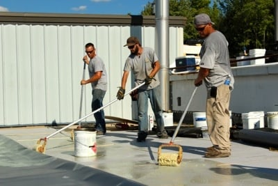 Flat Roof Repair-Mechanically Attached or Fully Adhered
