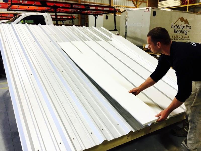 Metal Roof Repair - PVC Metal Roof Recover System