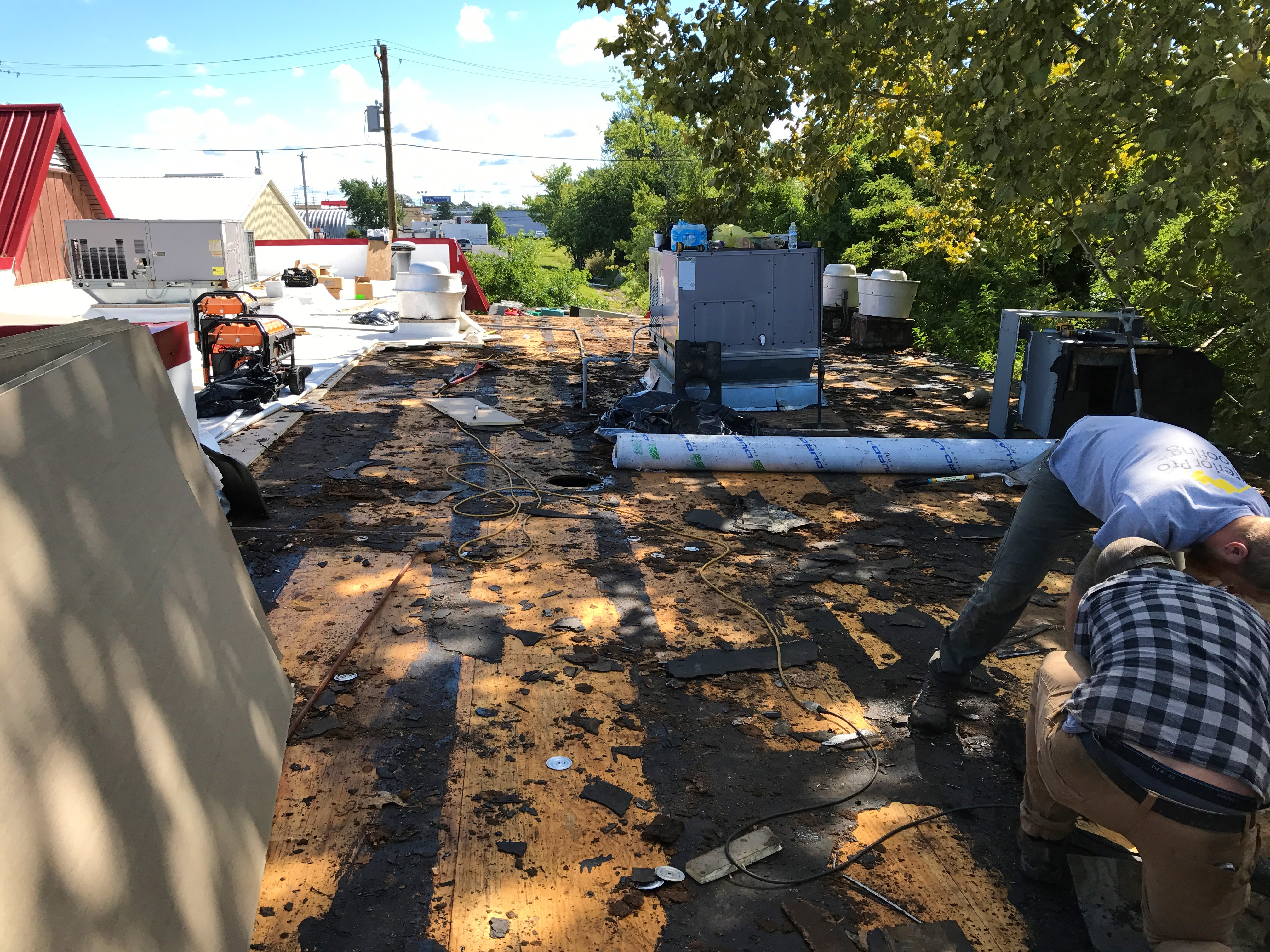 Maintaining Your Flat Roof