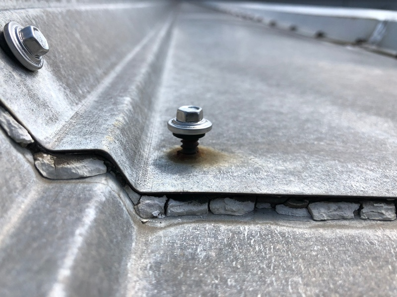 Metal Roof Inspection